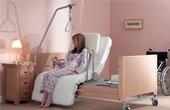Правильная кровать для лежачих больных