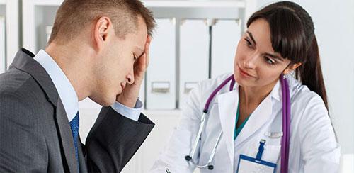Различные локализации головной боли