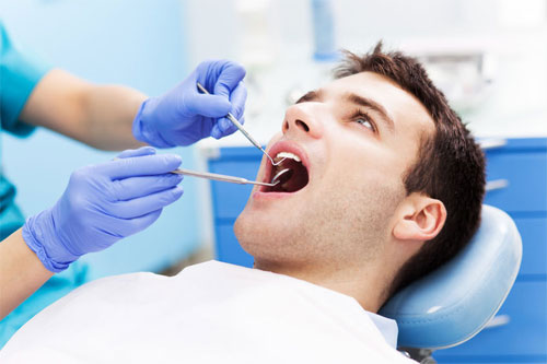 Ортодонтический вид диагностики зубов перед протезированием