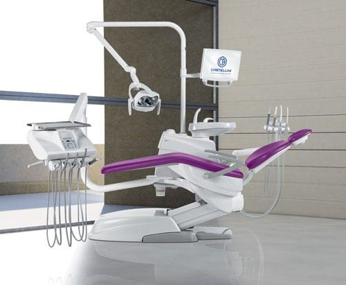 Принцип работы стоматологической установки