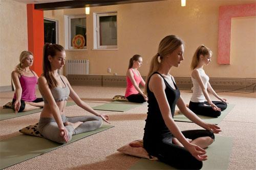 Йога в оздоровительном центре Савитар