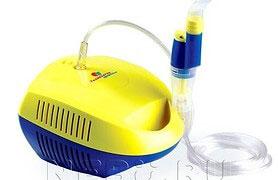 Для чего необходим компрессорный небулайзер, преимущества компрессорного небулайзера
