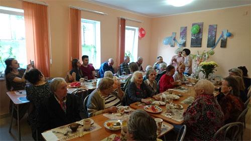 Пансионат для пожилых людей «Высокая Горка» в Ленинградской области