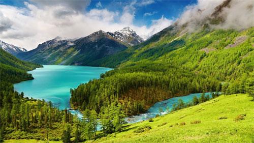 Живописная природа и живительный воздух Горного Алтая