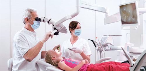 Оптические приборы для лечения зубов