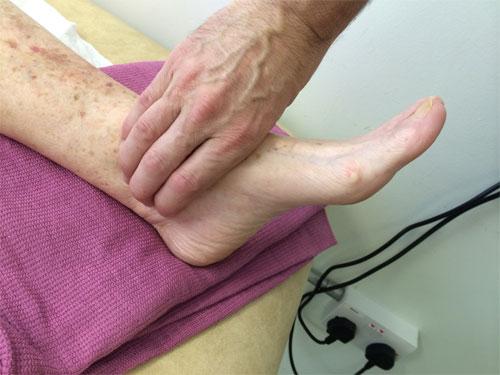 Болезни и состояния ног при сахарном диабете