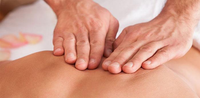 Спинной массаж