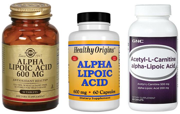 Альфа-липоевая кислота для контроля невропатии