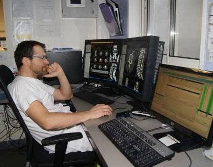 МРТ поясничного отдела в СПб