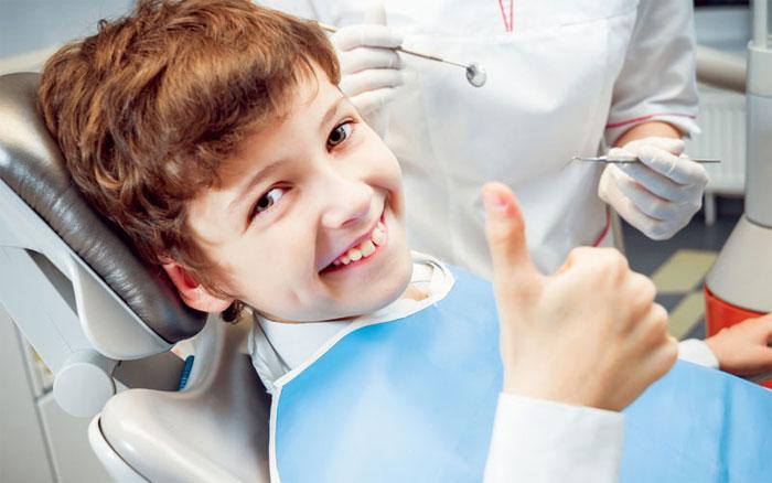 Особый подход к лечению зубов детям