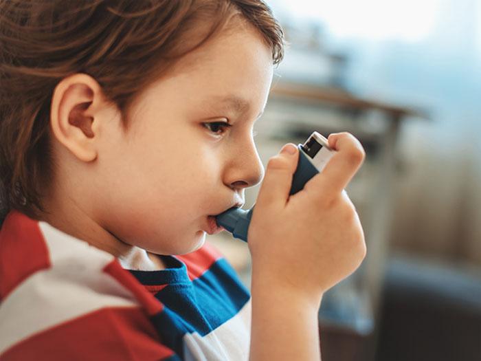 Лечение астмы с помощью Сальбутамола
