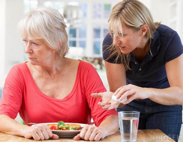 Деменция при болезни Паркинсона