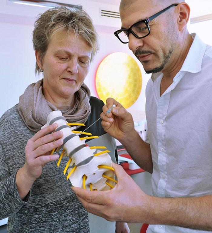 Болезни позвоночника и достижения в его лечении в OZMO (МЮНХЕН)