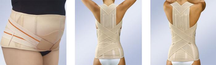 Качественный поддерживающий корсет для спины
