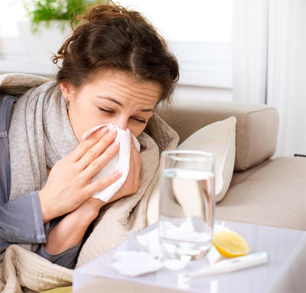 Простуда может предотвратить заражение дыхательных путей вирусом гриппа