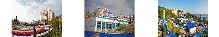 Санатории «Аквалоо» в Сочи, лечение и отдых на Черном море